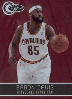 2010-11 Totally Certified Red #21 Baron Davis