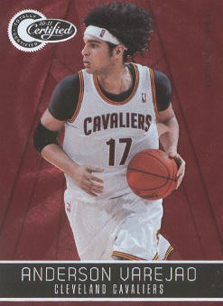 2010-11 Totally Certified Red #22 Anderson Varejao