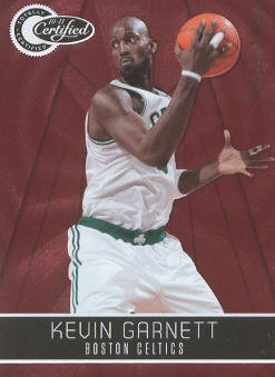 2010-11 Totally Certified Red #25 Kevin Garnett