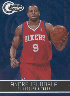 2010-11 Totally Certified Blue #1 Andre Iguodala