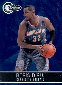 2010-11 Totally Certified Blue #6 Boris Diaw
