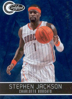 2010-11 Totally Certified Blue #8 Stephen Jackson