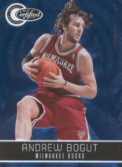 2010-11 Totally Certified Blue #10 Andrew Bogut