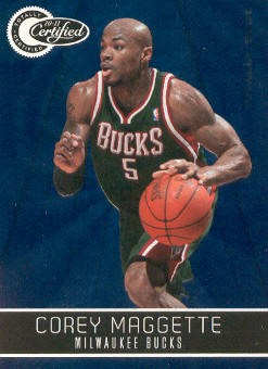 2010-11 Totally Certified Blue #12 Corey Maggette