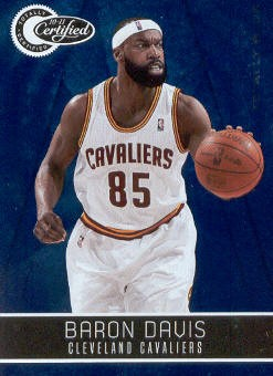 2010-11 Totally Certified Blue #21 Baron Davis