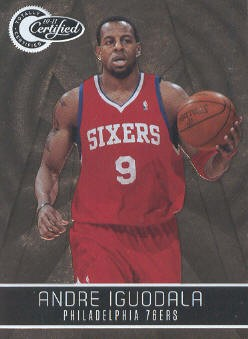 2010-11 Totally Certified Gold #1 Andre Iguodala