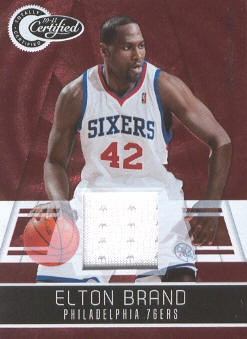 2010-11 Totally Certified Red Materials #2 Elton Brand/249