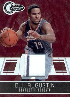 2010-11 Totally Certified Red Materials #5 D.J. Augustin/249