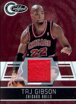 2010-11 Totally Certified Red Materials #18 Taj Gibson/249