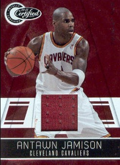 2010-11 Totally Certified Red Materials #19 Antawn Jamison/249