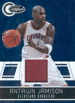 2010-11 Totally Certified Blue Materials #19 Antawn Jamison/99