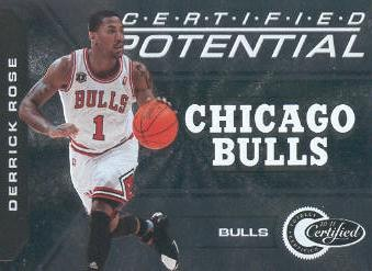 2010-11 Totally Certified Potential #2 Derrick Rose