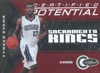 2010-11 Totally Certified Potential Red #4 Tyreke Evans