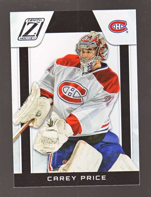 2010-11 Zenith #8 Carey Price