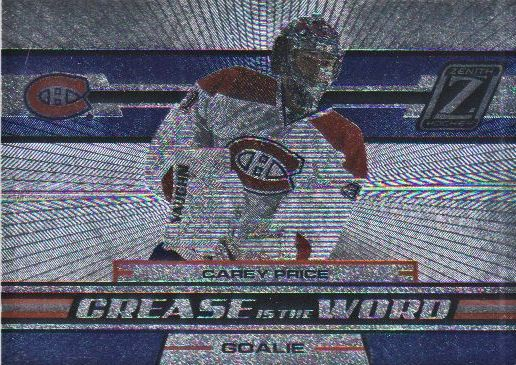 2010-11 Zenith Crease Is The Word #3 Carey Price