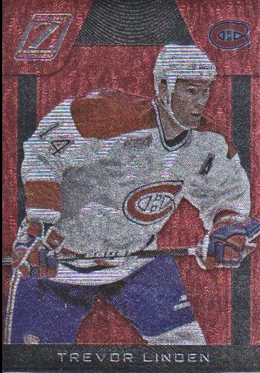 2010-11 Zenith Red Hot #138 Trevor Linden