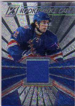 2010-11 Zenith Rookie Roll Call Jerseys #11 Mats Zuccarello