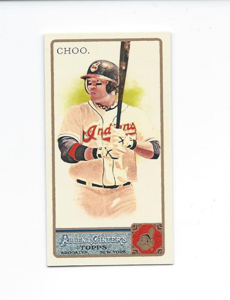 2011 Topps Allen and Ginter Mini #378 Shin-Soo Choo EXT