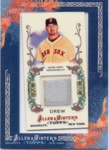 2011 Topps Allen and Ginter Relics #JDD J.D. Drew