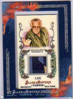 2011 Topps Allen and Ginter Relics #SLE Stan Lee