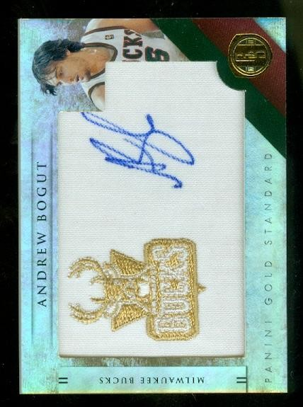2010-11 Panini Gold Standard Gold Team Logos #5 Andrew Bogut/199