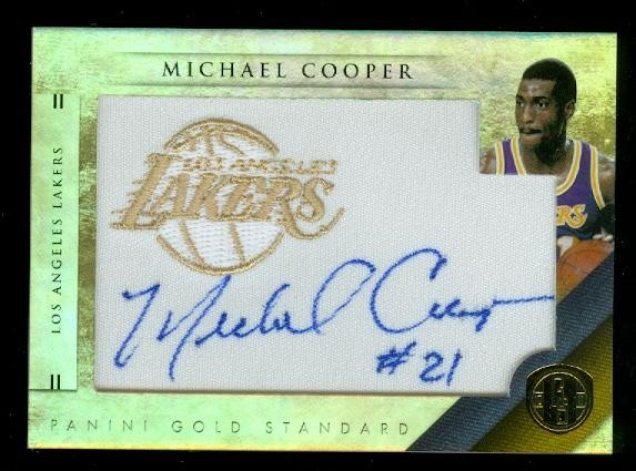 2010-11 Panini Gold Standard Gold Team Logos #37 Michael Cooper/199