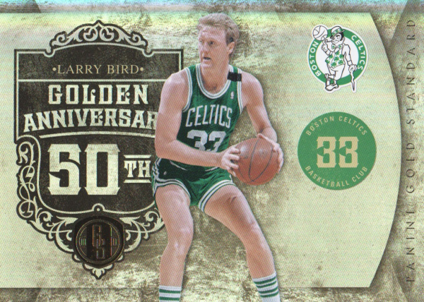 2010-11 Panini Gold Standard Golden Anniversary #4 Larry Bird