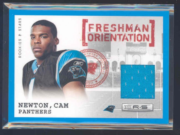 2011 Rookies and Stars Freshman Orientation Jerseys #8 Cam Newton
