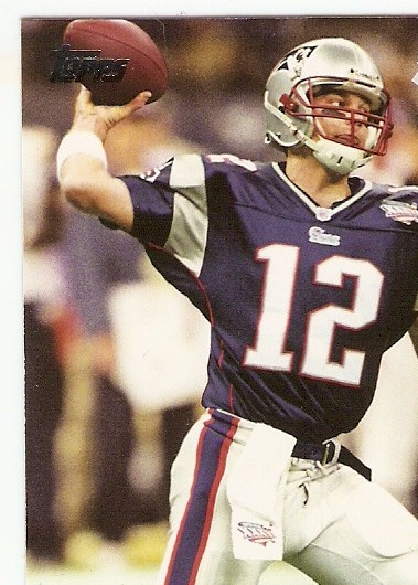 2011 Topps Super Bowl Legends #SBLXXXVI Tom Brady