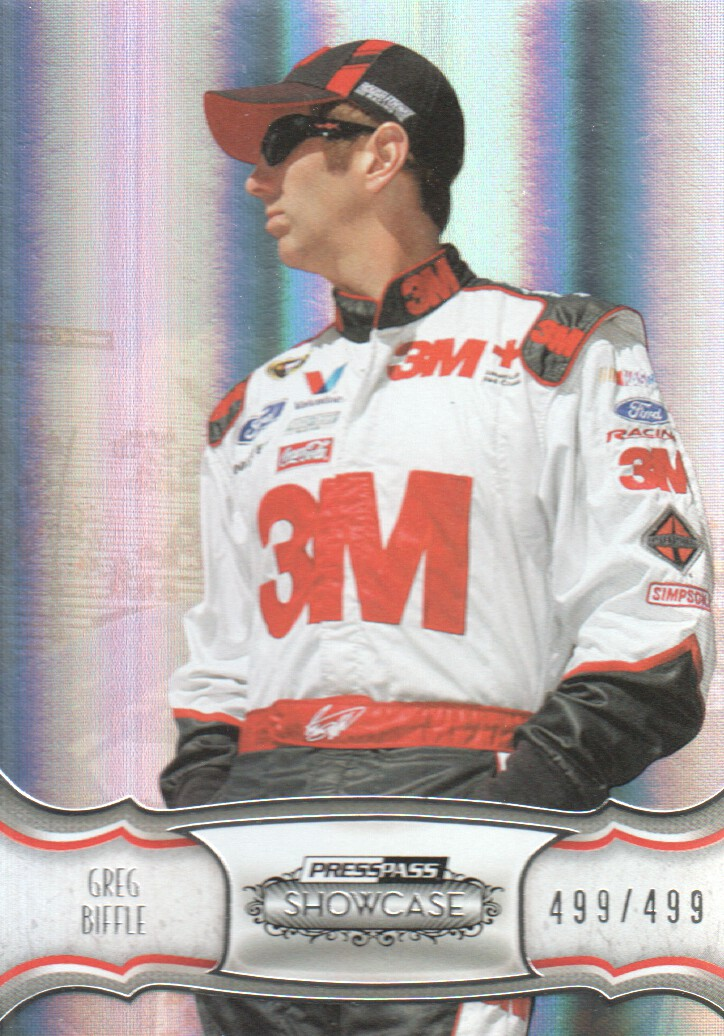 2011 Press Pass Showcase #11 Greg Biffle