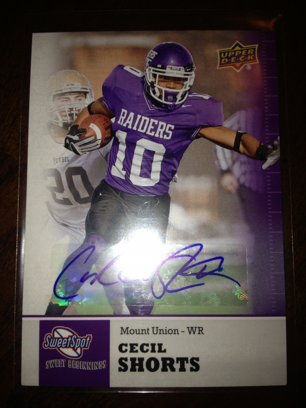 2011 Sweet Spot Autographs #31 Cecil Shorts