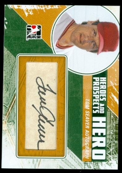 2011 ITG Heroes and Prospects Heroes Autographs #TS2 Tom Seaver S2