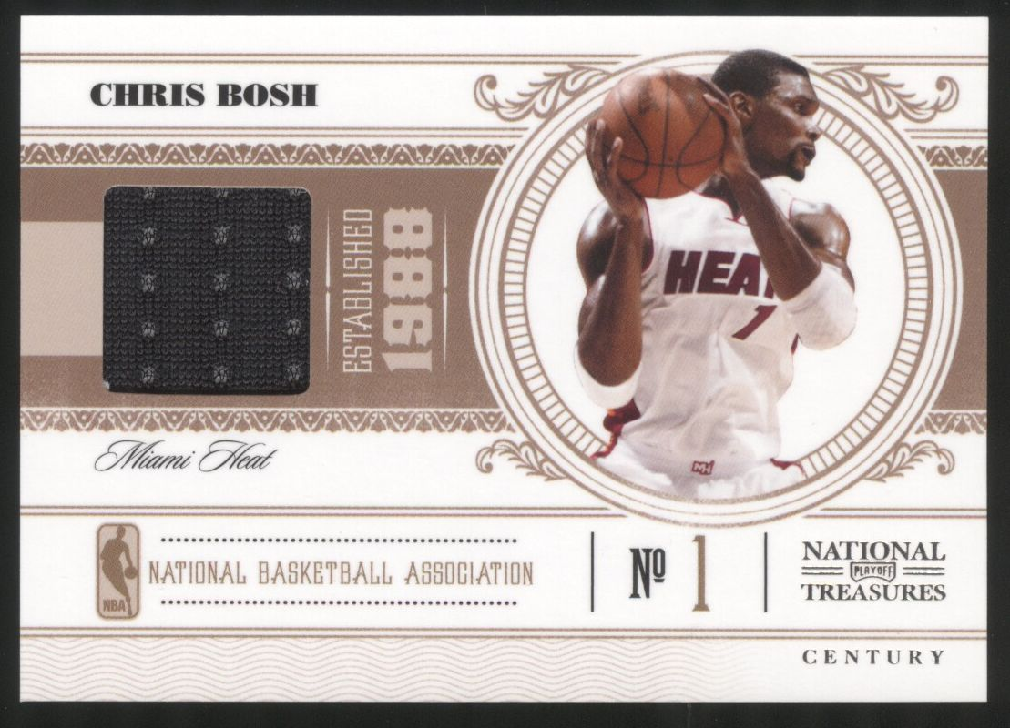 2010-11 Playoff National Treasures Century Materials #52 Chris Bosh/49