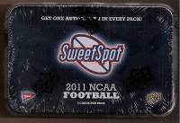 2011 Sweet Spot Football Hobby Pack