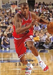 2008-09 Bulls Upper Deck #9 Tyrus Thomas