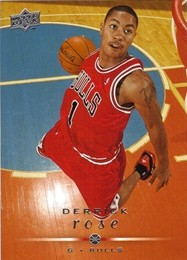 2008-09 Bulls Upper Deck #12 Derrick Rose