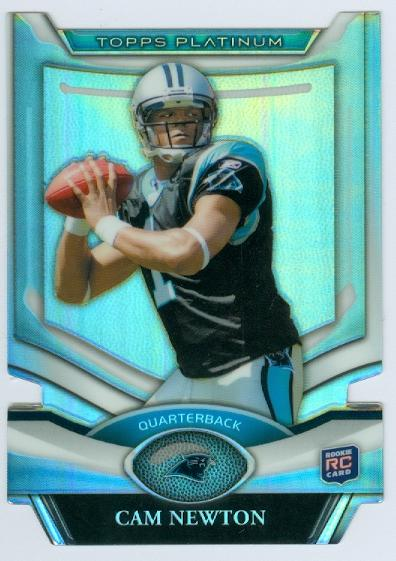 2011 Topps Platinum Die Cuts #PDCCN Cam Newton