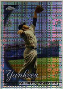 2011 Topps Chrome X-Fractors #7 Mickey Mantle