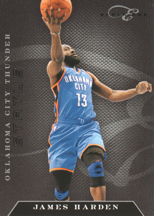 2010-11 Elite Black Box #68 James Harden