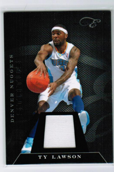2010-11 Elite Black Box Materials #20 Ty Lawson/99