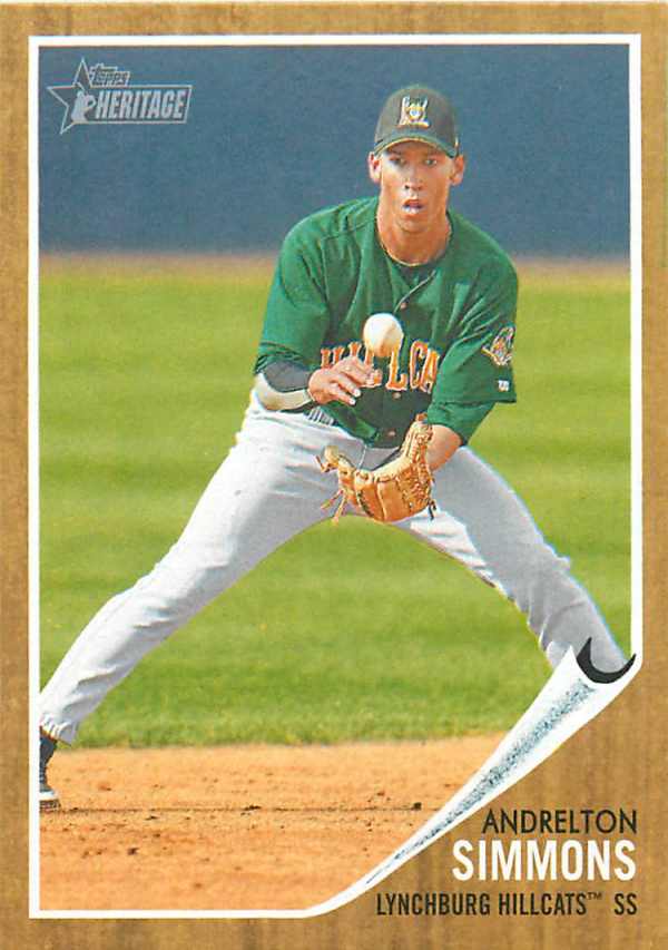 2011 Topps Heritage Minors #1 Andrelton Simmons