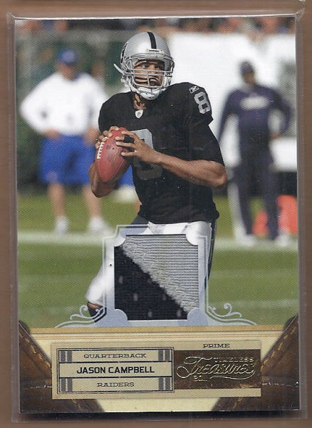 2011 Timeless Treasures Jerseys Prime #40 Jason Campbell/25