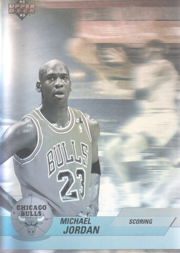 1992-93 Upper Deck International Spanish Award Winner Holograms #1 Michael Jordan