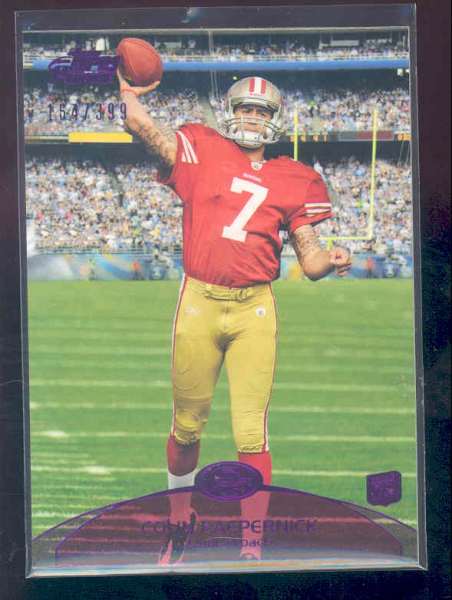 2011 Topps Prime Purple #47 Colin Kaepernick