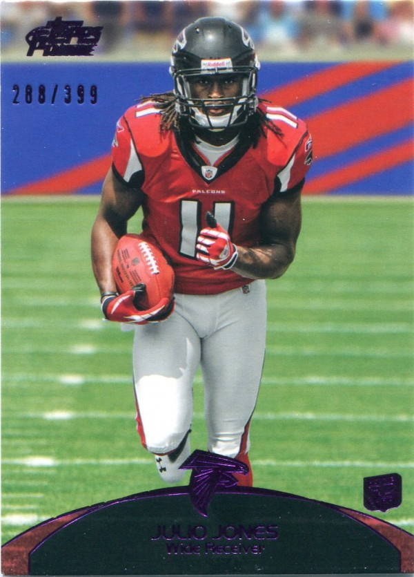 2011 Topps Prime Purple #52 Julio Jones