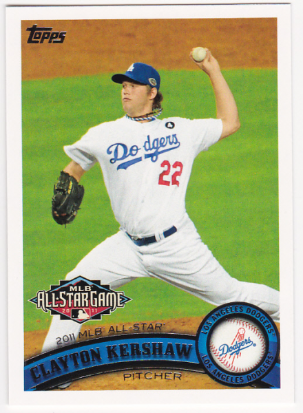2011 Topps Update #US140A Clayton Kershaw