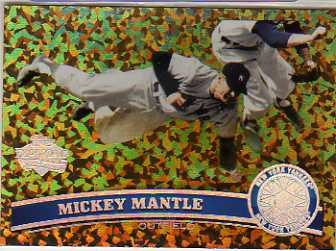 2011 Topps Cognac Diamond Anniversary #7 Mickey Mantle