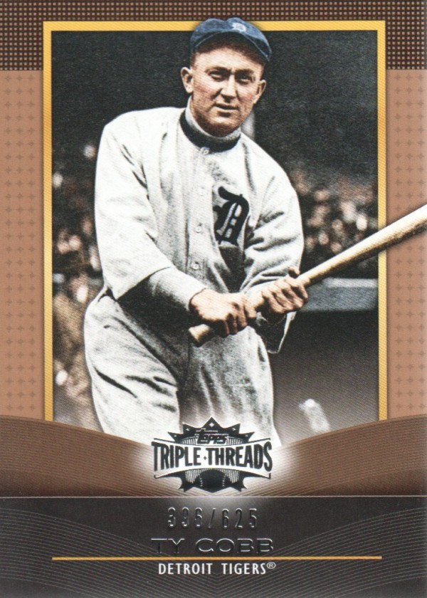 2011 Topps Triple Threads Sepia #26 Ty Cobb