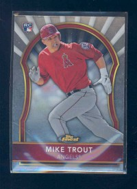 2011 Finest #94 Mike Trout RC