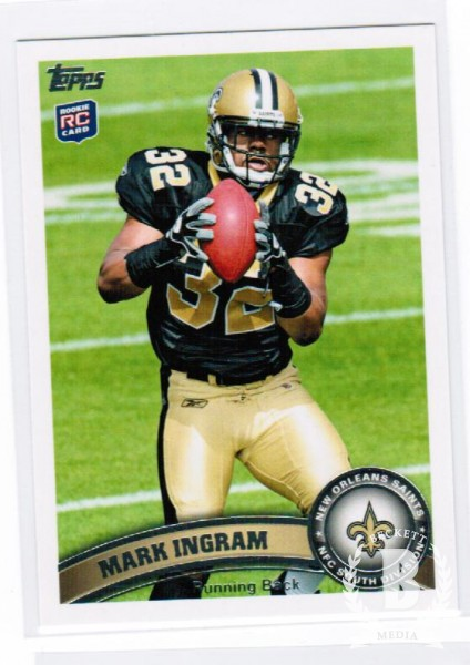 2011 Topps #426C Mark Ingram FS/(ball in both hands/factory set only)